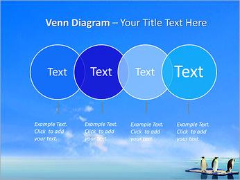 Penguins On Ice Floe PowerPoint Template - Slide 12