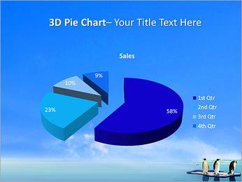 Penguins On Ice Floe PowerPoint Template - Slide 15