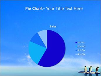 Penguins On Ice Floe PowerPoint Template - Slide 16