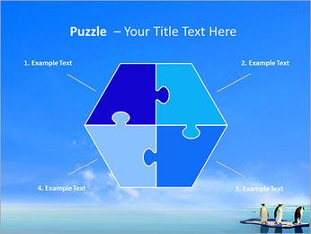 Penguins On Ice Floe PowerPoint Template - Slide 20