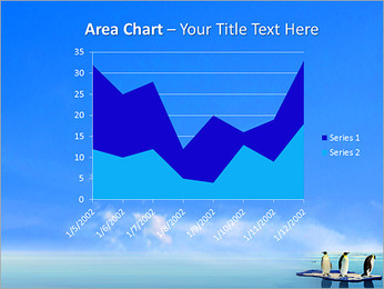 Penguins On Ice Floe PowerPoint Template - Slide 33