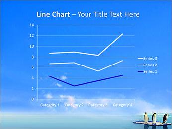 Penguins On Ice Floe PowerPoint Template - Slide 34