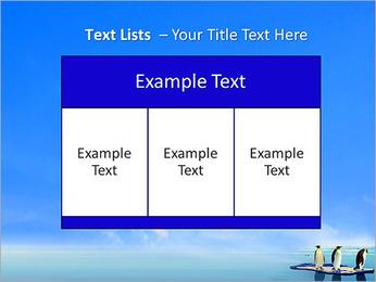 Penguins On Ice Floe PowerPoint Template - Slide 39