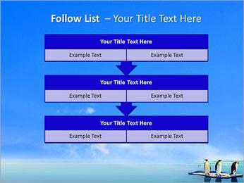 Penguins On Ice Floe PowerPoint Template - Slide 40