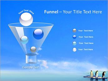 Penguins On Ice Floe PowerPoint Template - Slide 43