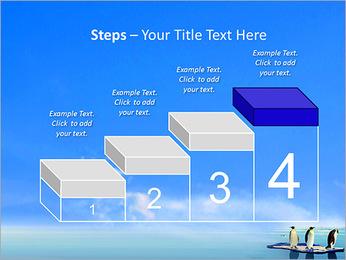 Penguins On Ice Floe PowerPoint Template - Slide 44