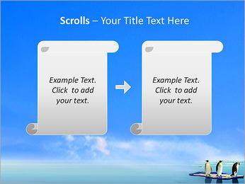 Penguins On Ice Floe PowerPoint Template - Slide 54