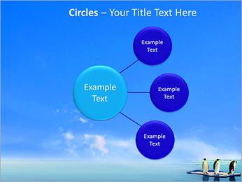 Penguins On Ice Floe PowerPoint Template - Slide 59