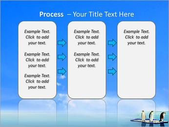 Penguins On Ice Floe PowerPoint Template - Slide 66