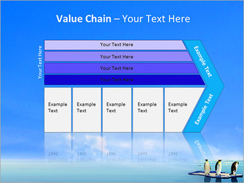 Penguins On Ice Floe PowerPoint Template - Slide 7
