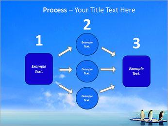 Penguins On Ice Floe PowerPoint Template - Slide 72
