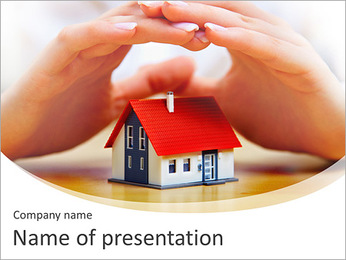 House PowerPoint Template - Slide 1