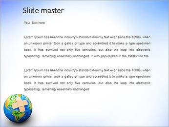 Plaster On Earth PowerPoint Templates - Slide 2