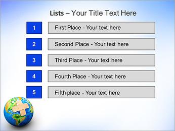 Plaster On Earth PowerPoint Templates - Slide 3