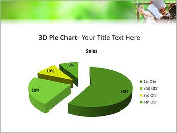 Reading In Hammock PowerPoint Template - Slide 15