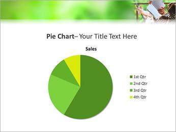 Reading In Hammock PowerPoint Template - Slide 16