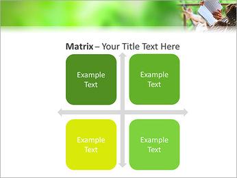 Reading In Hammock PowerPoint Template - Slide 17