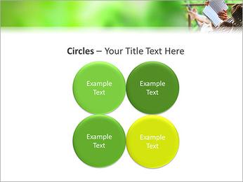 Reading In Hammock PowerPoint Template - Slide 18