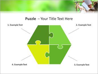Reading In Hammock PowerPoint Template - Slide 20