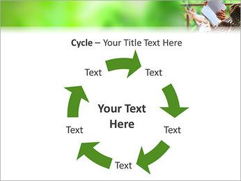 Reading In Hammock PowerPoint Template - Slide 42