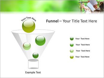 Reading In Hammock PowerPoint Template - Slide 43