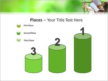 Reading In Hammock PowerPoint Template - Slide 45