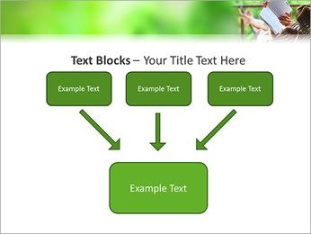 Reading In Hammock PowerPoint Template - Slide 50