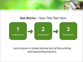Reading In Hammock PowerPoint Template - Slide 51