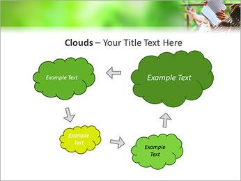 Reading In Hammock PowerPoint Template - Slide 52