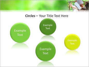 Reading In Hammock PowerPoint Template - Slide 57