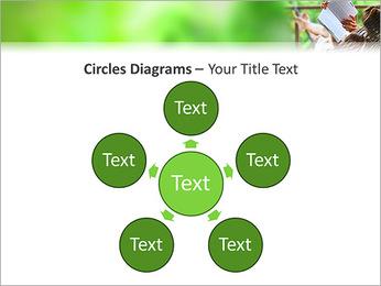 Reading In Hammock PowerPoint Template - Slide 58
