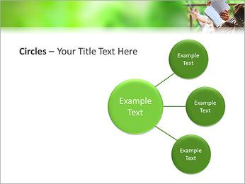 Reading In Hammock PowerPoint Template - Slide 59