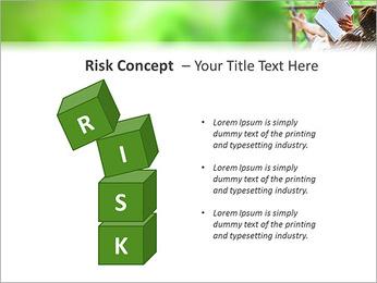 Reading In Hammock PowerPoint Template - Slide 61