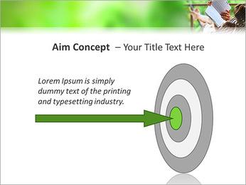 Reading In Hammock PowerPoint Template - Slide 63