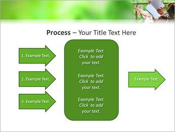 Reading In Hammock PowerPoint Template - Slide 65