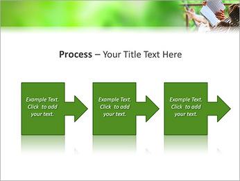 Reading In Hammock PowerPoint Template - Slide 68