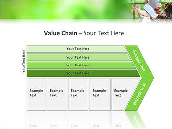 Reading In Hammock PowerPoint Template - Slide 7