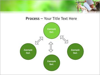 Reading In Hammock PowerPoint Template - Slide 71