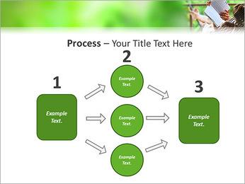 Reading In Hammock PowerPoint Template - Slide 72