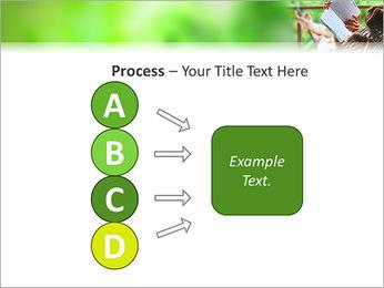 Reading In Hammock PowerPoint Template - Slide 74