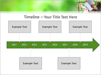 Reading In Hammock PowerPoint Template - Slide 8