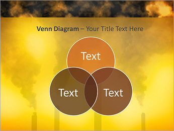 Factory Smog PowerPoint Template - Slide 13