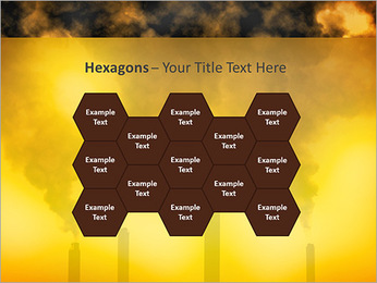 Factory Smog PowerPoint Template - Slide 24