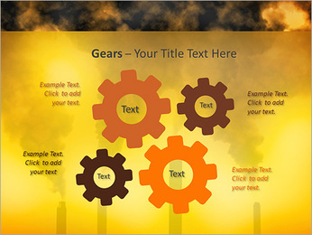 Factory Smog PowerPoint Template - Slide 27