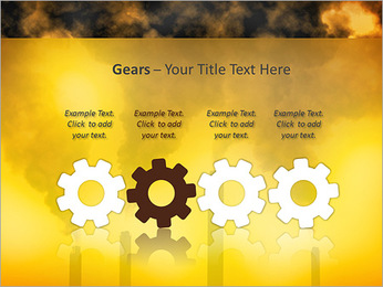 Factory Smog PowerPoint Template - Slide 28
