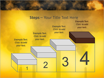 Factory Smog PowerPoint Template - Slide 44