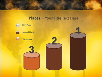 Factory Smog PowerPoint Template - Slide 45