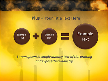 Factory Smog PowerPoint Template - Slide 55