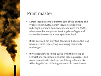 Factory Smog PowerPoint Template - Slide 76