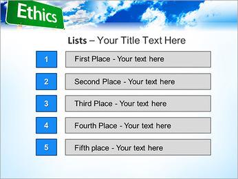 Ethics PowerPoint Template - Slide 3